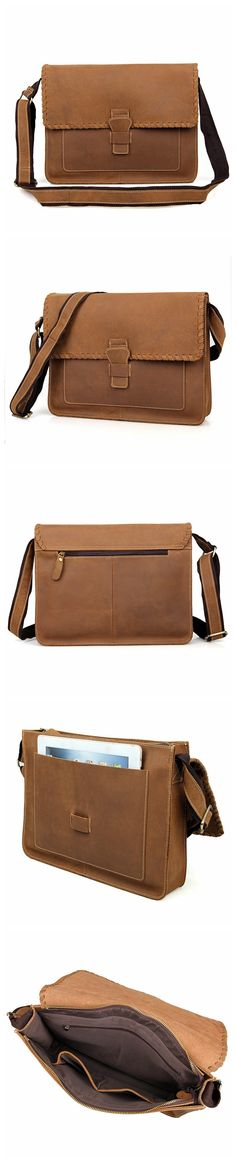 66e346a9de Vintage Leather Messenger Bag Messenger Bag Fossil For Men Best Messenger  Bags 1009