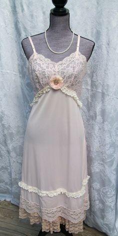 Sweet Vintage Slip Dress by GypsyGirlSlips on Etsy, $45.00