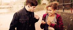 Simon and Alisha - Misfits | 22 British OTPs More Relatable Than Ross And Rachel