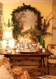 beautiful traditional Christmas decorations (Kentucky)