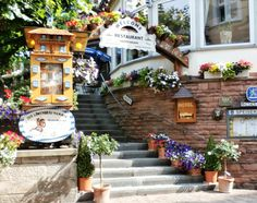 Cute little cafe in Baden Baden, Germany
