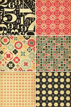 Cosmo Cricket Circa 1934 Collection . Great inspiration for SAMs quilt and or table runner.