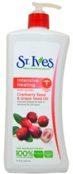 unisex st. ives intensive healing body lotion