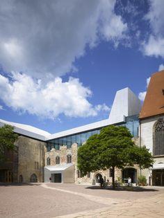 Moritzburg Museum Extension,© Roland Halbe Fotografie