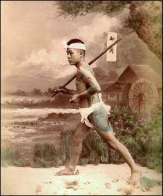 old japanese tattoo