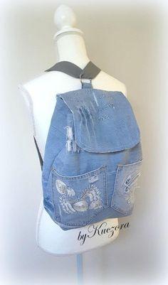 3 in 1 denim backpack shoulder bag body bag variable