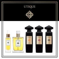 Utique Luxury Collection - To purchase these products visit http://www.membersfm.com/michelle-brandon and find out how you too can get a discount of up to 30% on FM fragrance and other perfume and cosmetics products.