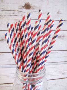 Red White & Bloomin' by Gloria on Etsy