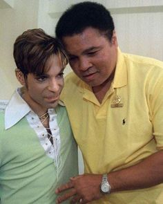 Muhammad Ali was an icon to many people including one awestruck Prince. The former heavyweight champion passed away last Friday at the age of A video shows Prince, who. Muhammad Ali, Black Is Beautiful, Beautiful People, Amazing People, Black History Facts, Mike Tyson, Roger Nelson, Prince Rogers Nelson, Before Us