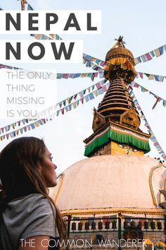 Post earthquake, Nepal is open and ready for business. It's safe, beautiful, and as welcoming as ever. Nepal now. The only thing missing is you.