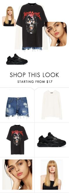 BLACK PINK by naray19 on Polyvore featuring Vetements and NIKE