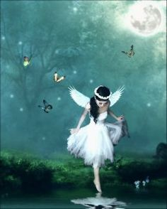 Ok so coming out of the fairy circle I turned into a fairy! And I'm stuck in a bubble