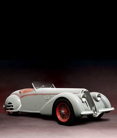 Alfa Romeo 8C 2900-B Corto Touring Spyder, Unrestored, 1938