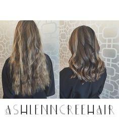 big chop. #redkenartist #ashlenncreehair #hairprincess #bioionic stylewinder to curl