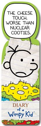 Diary of a Wimpy Kid - Cheese Touch - Shapemark