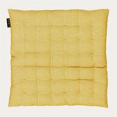 Pepper Seat Cushion – Mustard Yellow | Essentials | Kitchen | Seat cushions | Linum