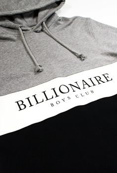 Billionaire Boys Club Break Cut&Sew Hoodie - Sweatshirts - Billionaire Boys Club - Billionaire Boys Club / Icecream