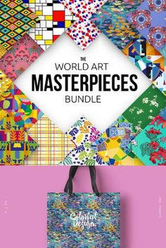 The World Art Masterpieces Bundle includes all patterns from the World Art Styles Collections. Discovering the history of the past, we open new opportunities in the present and shaping the future using the new experience. Masters of painting the entire epoch gave us world masterpieces of art, and this bundle makes it possible to make the new ideas in reality and create beautiful and vivid graphics.