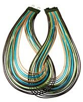 long multicord necklace
