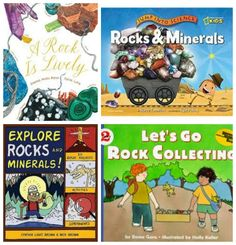 Kids books about rocks and geology -- perfect reads for those rock collections :)