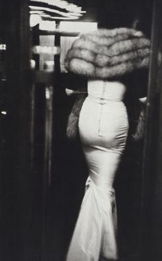 Woman, Paris - photo by Robert Frank, 1952.