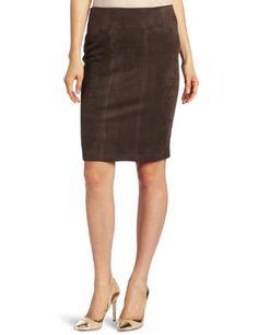 Karen Kane Women`s Faux Suede Pencil Skirt $55.57