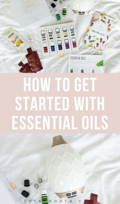 all about my essential oil obsession! I'm sharing everything that comes in the young living starter kit and what I've been using and loving! Essential Oil Starter Kit, Thieves Essential Oil, Essential Oils For Sleep, Best Essential Oils, Essential Oil Uses, Young Living Essential Oils, Instagram Bio, Young Living Oils, Essentials