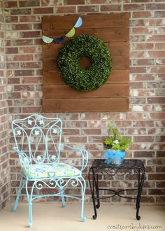 Front Porch Spring Makeover
