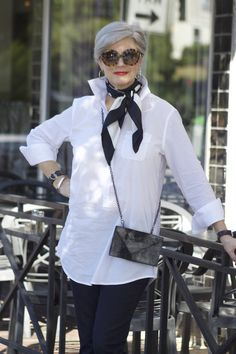 there's something so crisp and classic about a white shirt. maybe that's why i have more than one hanging in my closet. tuck one into a pencil skirt and you've transformed into office appropriate chicdom. or throw one over a pair of denim and you're ready for a casual evening out. over the weekend, mr. style …
