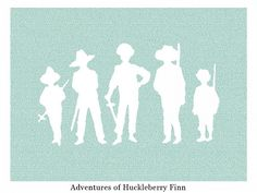 Litographs: Books on Posters: Adventures of Huckleberry Finn - Original 18 x 24