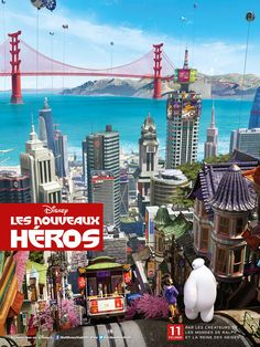 Big Hero 6 – más posters