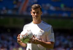 Gareth Bale pictures from Real Madrid CF presentation