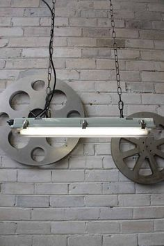industrial marine styled fluro light can be used in a range of interiors