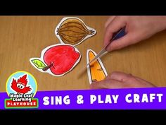 cut the carrot sing and play craft for kids maple leaf learning playhouse - Youtube Halloween Crafts