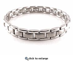 Magnetic Bracelet Stainless Steel Style #24