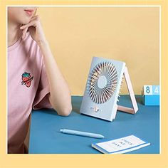 Cool Camping Gadgets, Dark Blue, Light Blue, Gadget Store, Portable Fan, Office Gifts, Light Colors, Offices, Smartphone