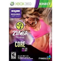 Zumba Fitness Core for Xbox 360 - Get ready to rock your core! Zumba Fitness Core is the latest release in the best-selling video game franchise that has sold more than seven million players on the exhilarating Zumba Fitness interactive workout. As the only fitness game that targets your core, Zumba Fitness Core is specifically designed to deliver the tight and toned abs that women crave.  $29.99