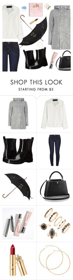 """""""Rainy days"""" by realrikki ❤ liked on Polyvore featuring Dorothy Perkins, Brandon Maxwell, Tory Burch, Alexander McQueen and rainyday"""