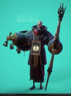 Priest-O-Matic by Agelos Apostolopoulos