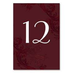 =>Sale on          Elegant Burgundy Flourish Wedding Table Number Table Cards           Elegant Burgundy Flourish Wedding Table Number Table Cards lowest price for you. In addition you can compare price with another store and read helpful reviews. BuyDiscount Deals          Elegant Burgundy...Cleck Hot Deals >>> http://www.zazzle.com/elegant_burgundy_flourish_wedding_table_number_table_card-256004180483527298?rf=238627982471231924&zbar=1&tc=terrest