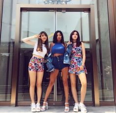 Jessi with Sohye and Somi! Jessi Kpop, Ioi Members, Choi Yoojung, Kim Sejeong, Jeon Somi, Best Rapper, Jessica Jung, Korean Music, Kpop Fashion