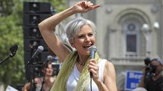 'US foreign policy is a marketing strategy for selling weapons' - Jill Stein Green Party presidential candidate Jill Stein © Dominick Reuter