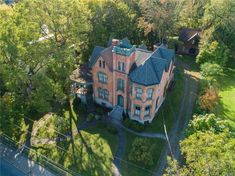 For Sale James Seymour Mansion 113 North Street, Auburn, NY 13021 Seymour, City Hospital, Curved Staircase, Historic Properties, Mansions For Sale, Marble Fireplaces, Old House Dreams, Real Estate Companies, Ghosts