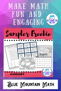 Looking for a quick idea for back to school? Try the conversation cards to get students talking and laughing. Need a quick activity for unexpected absences or early finishers? Try the word search with the secret message or the scrambled words. Also included is a calendar to color and 2 other coloring pages.