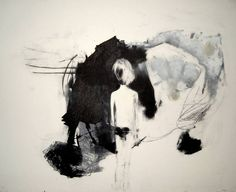 """Saatchi Art is pleased to offer the art print, """"Planner,"""" by Tiina Kivinen. Original Printmaking: Etching on N/A. Abstract Landscape, Abstract Art, Amazing Drawings, 2d Art, Painting & Drawing, Printmaking, Graphic Art, Saatchi Art, Contemporary Art"""