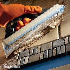 Learn to use the right tools and materials for successful grouting on any tile job. A proper grout mix and application technique will give your tile work a great look that will last. Along the way we'll show you how to avoid the pitfalls that lead to grouting disasters.