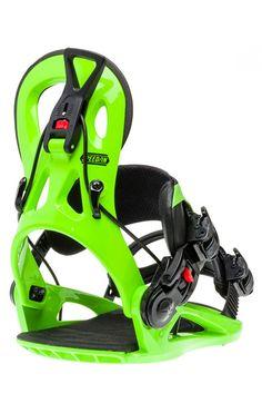 GNU Cheeter Binding Green 17/18 Snowboard Bindings, Easy Entry, Marketing Professional, Baby Car Seats, Green, Black, Black People