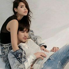 . Best Thai, Sweet Couple, Celebrity Couples, Traditional Dresses, Actors & Actresses, Thailand, It Cast, My Favorite Things, Celebrities