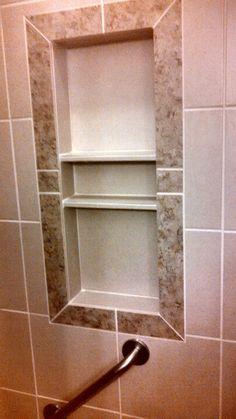 Good Shower Shelf   Tile Ideas   Pinterest   Shelves, Showers And Shower Shelves