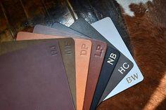 Custom Leather Mousepad Full Grain Premium Real Leather.